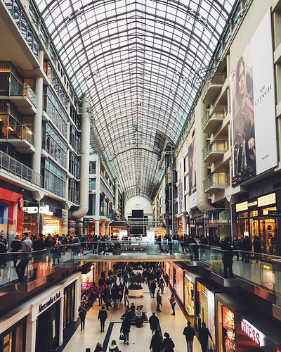 #Eaton #Centre, #downtown #Toronto. #toronto_insta #yonge #iphone6s #Ontario #Canada #igerstoronto