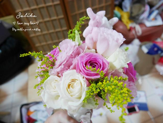 可愛兔子娃娃新娘捧花 (1)