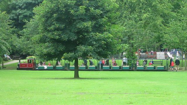 Buxton Miniature Railway in Park