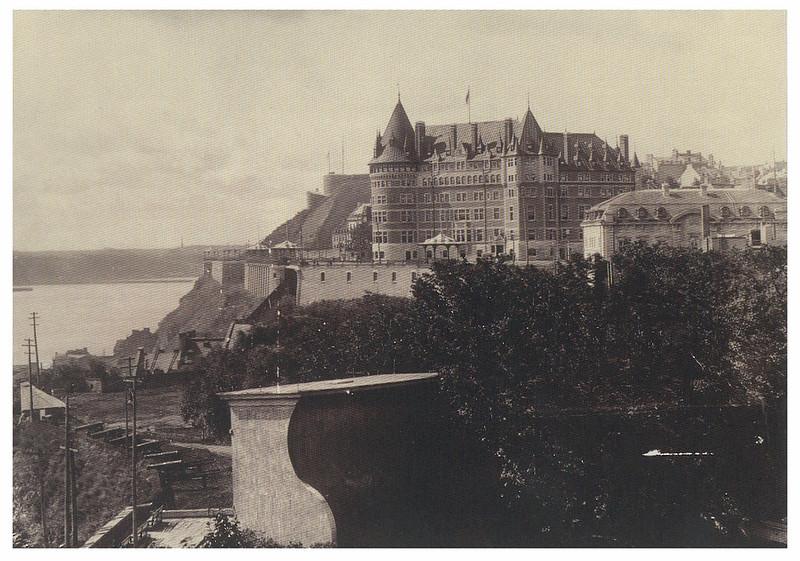 Retro - Canada - Quebec - Chateau Frontenac