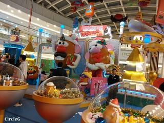 薯蛋頭 DISNEYLAND TOY STORY 新都城中心 寶琳 將軍澳 HONGKONG 2015 CIRCLEG 聖誕裝飾 (4)