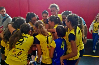 le ragazze del Progetto 172 - Casamassima Volley