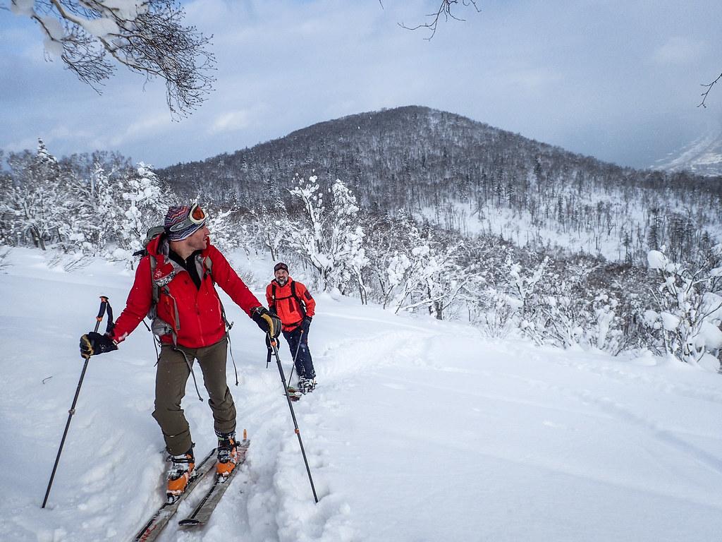 Skinning up Mt. Haruka (Hokkaido, Japan)
