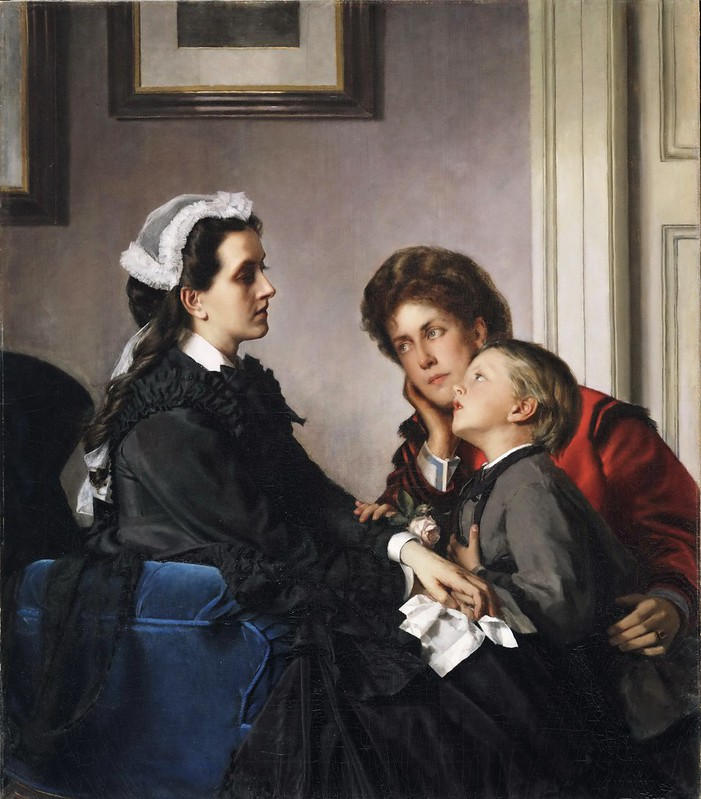 Alexandre Cabanel - The Governess [c.1865-70]