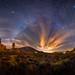 Vía láctea de invierno sobre el ParqueNacional del Teide [Explore] by Javier Martínez Morán