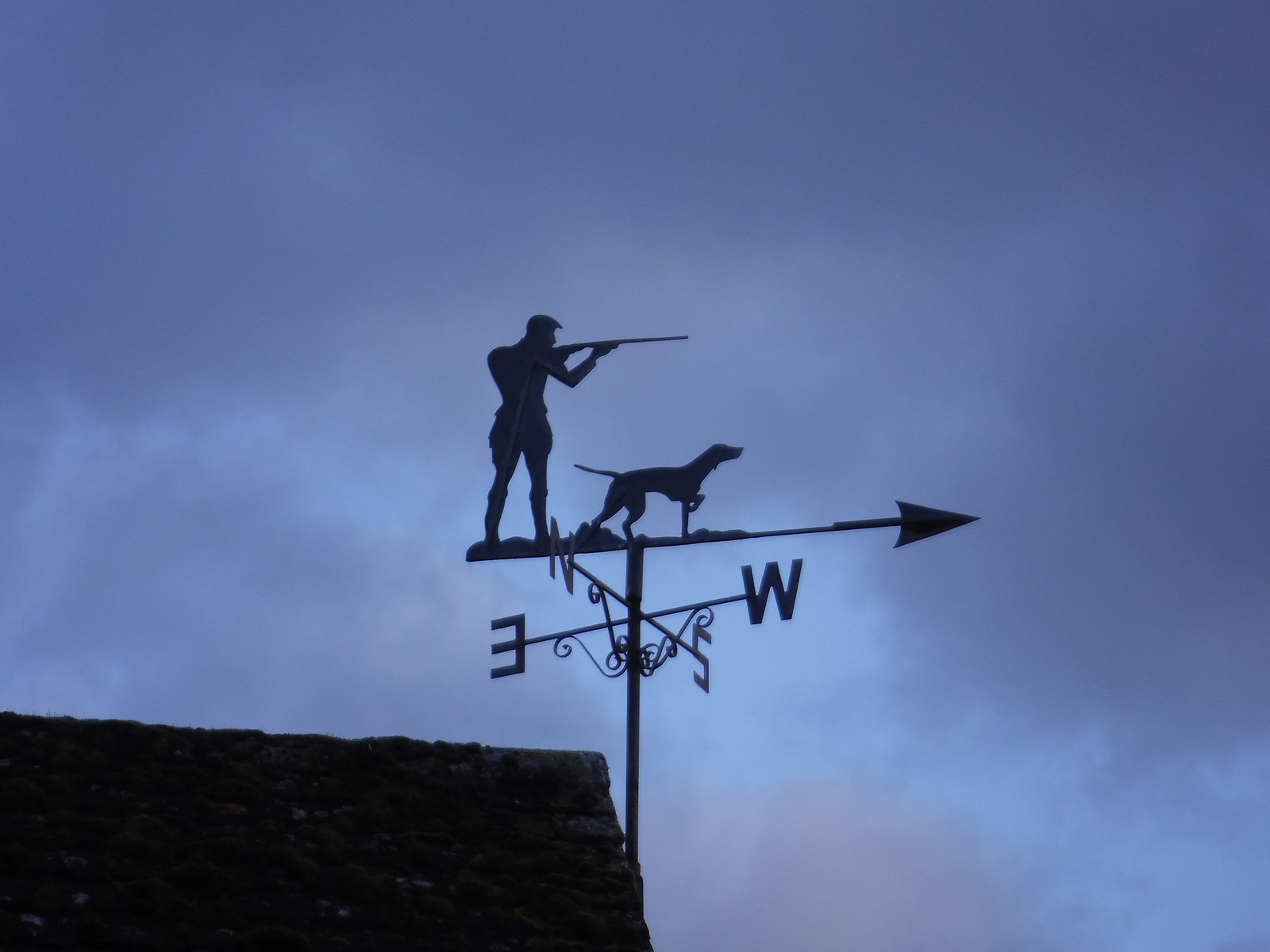 Weather Vane, Haddenham SWC Walk 191 Haddenham Circular (via Brill)