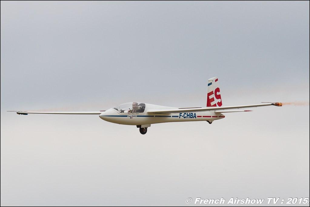 Marganski Swift S-1 - 108 F-CHBA - France FFVV - Fédération Française de Vol à Voile Salon du Bourget Sigma France Paris Airshow 2015