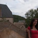 Los dos en el castillo