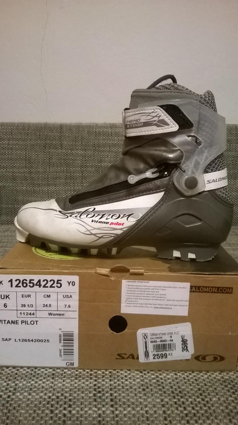dámské COMBI boty na běžky Salomon Vitane Pilot - Bazar - Běžky.net ae9c287359