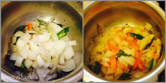 Sambar Sadam Recipe for Babies, Toddlers and Kids - step 3