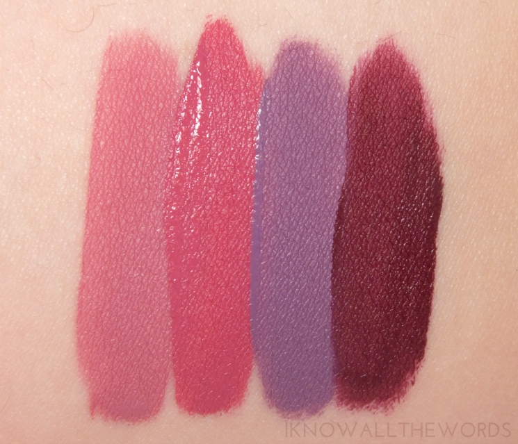 Kat Von D Everlasting Liquid Lipsticks Lovesick, Mother, Ayesha, Exorcism (6)