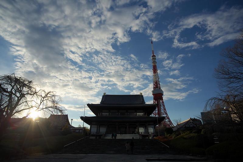 東京路地裏散歩 増上寺と東京タワー 2016年2月7日