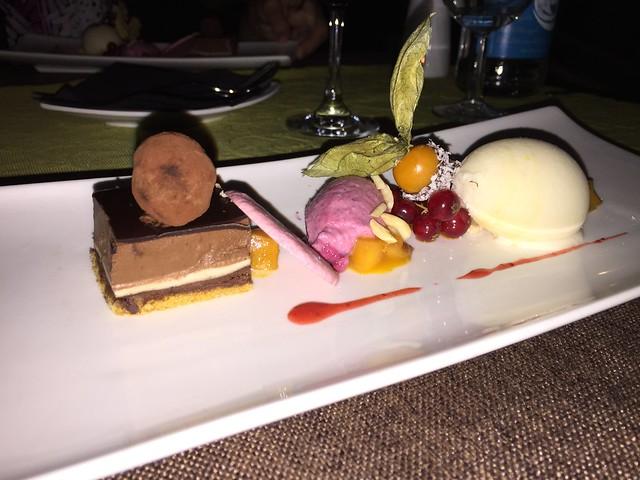 Dessert at Lucky Leek