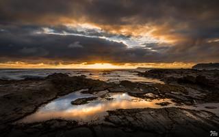 Stormy Sunset at Kilkunda