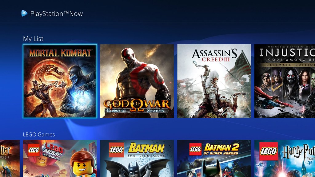 PlayStation Now February 2016 Update