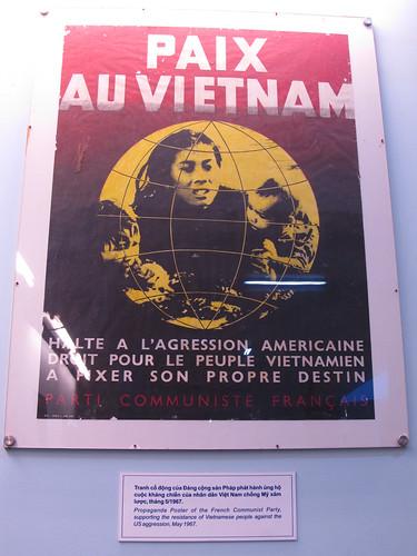 Ho Chi Minh Ville: affiche en France