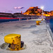 The amazing Old Fortress of Corfu during sunset...