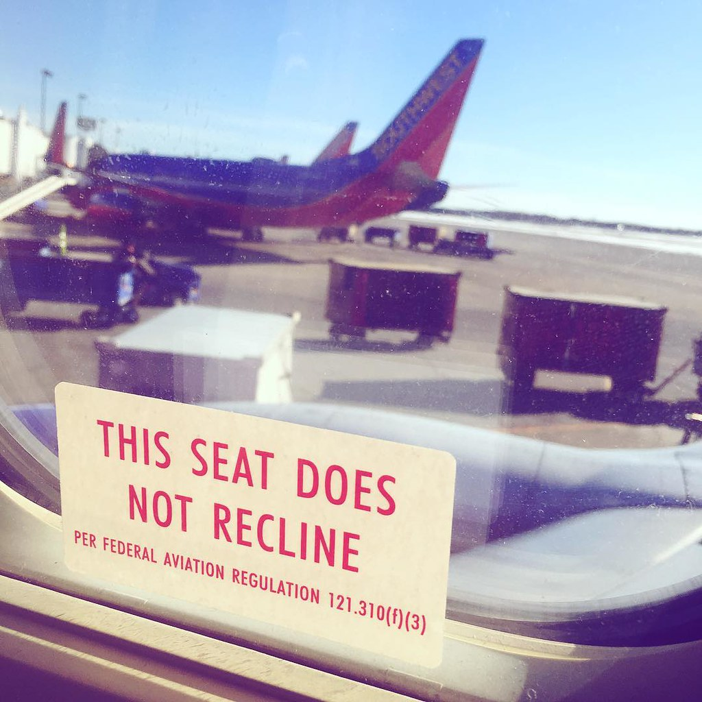 This seat does not recline