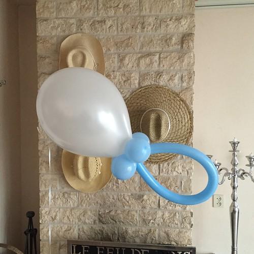 Ballonnen Fopspeen Babyshower
