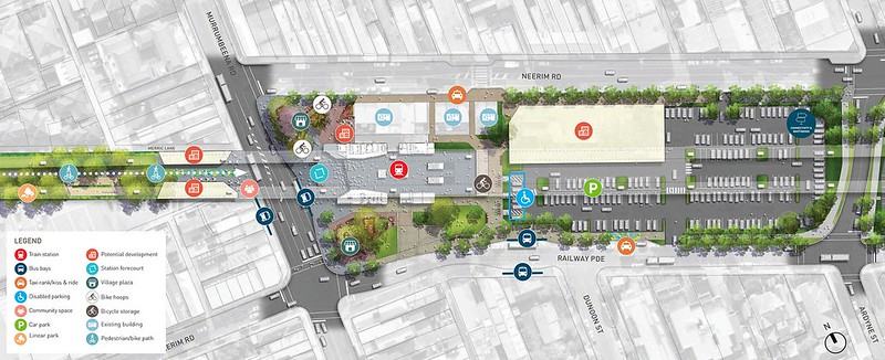 LXRA: Murrumbeena station - proposed design, February 2016