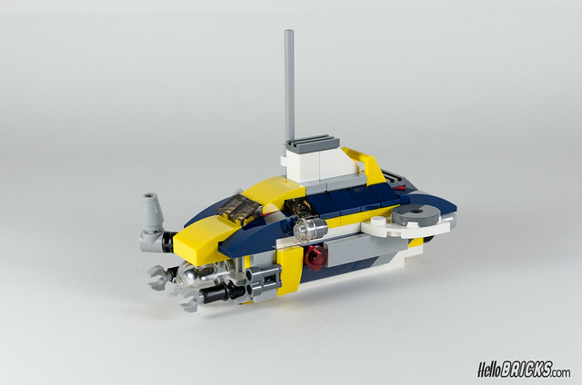 REVIEW LEGO Creator 31045 Ocean Explorer 21