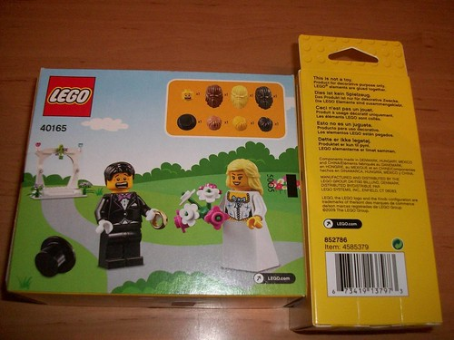 LEGO Minifigure Wedding Favor Set (40165)