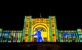 Imagen de Royal Exhibition Building cerca de North Melbourne. white night melbourne 2016