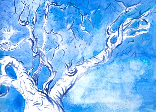 Sketchbook #94: Winter Trees