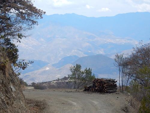 Onderweg naar Hierve el Agua - 2