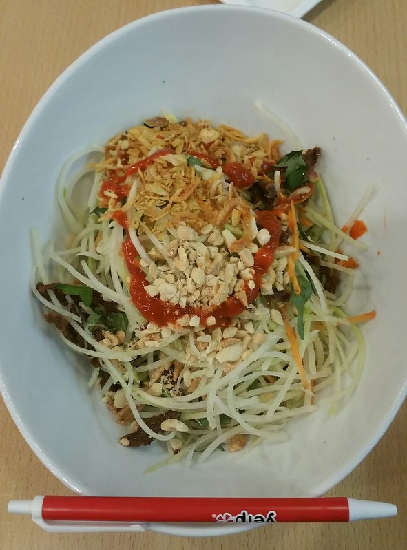 2016-Mar-22 Miss Saigon - green papaya salad