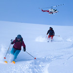 The essence of heliskiing