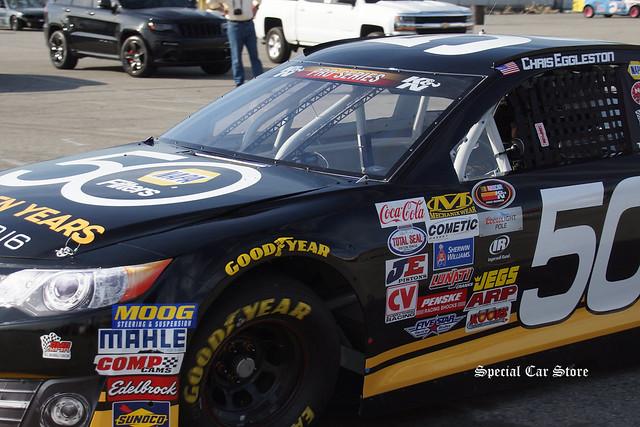 Chris Eggleston at NASCAR K&N Pro Series West practice