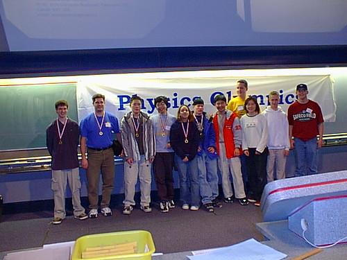 2001 UBC Physics Olympics