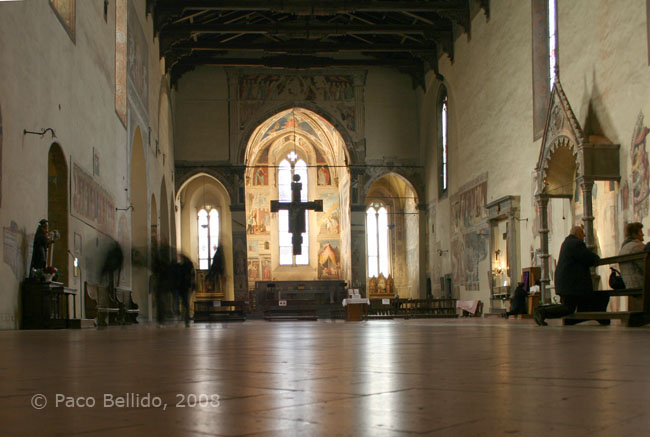 Interior de San Francesco. © Paco Bellido, 2008