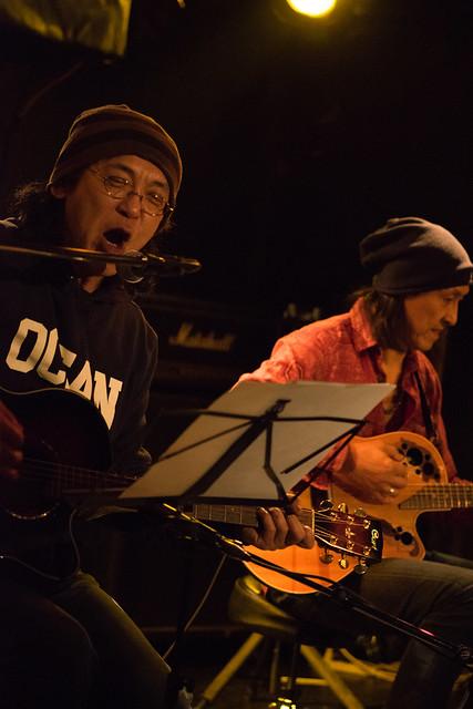 渡辺繁和 with モトイ live at Outbreak, Tokyo, 10 Mar 2016. (7M2)-00033