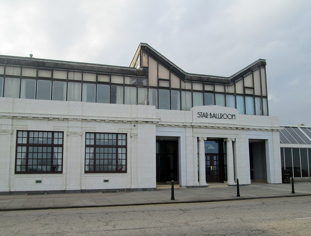 Beach Ballroom, Aberdeen, North end from east