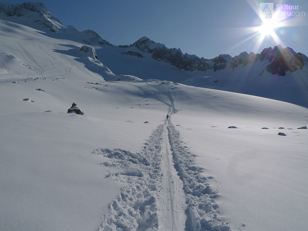 Kraulscharte Stubaiské Alpy Österreich foto 12