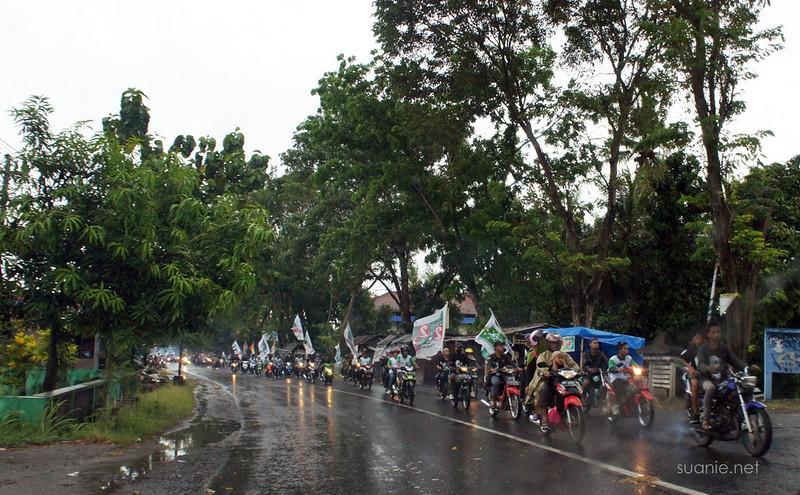 Yogyakarta, Indonesia - election mood