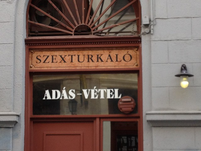 Second hand sex shop