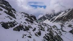 Jezioro Lago di Gera 2125m i tama