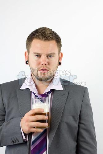 Drunken Office Worker