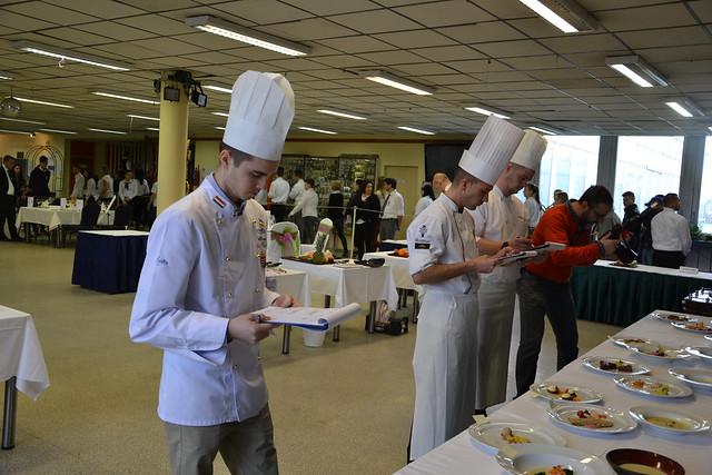 Euroskills szakács és pincér válogató verseny
