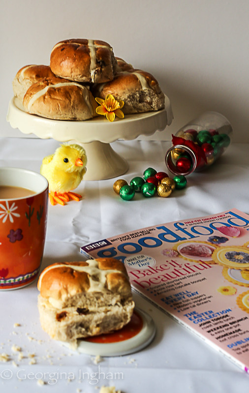 Georgina Ingham | Culinary Travels Photograph Recipe for the Ultimate Easter Treat Hot Cross Buns