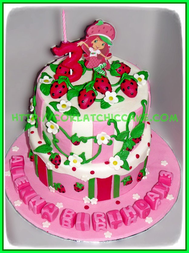 cake strawberry shortcake