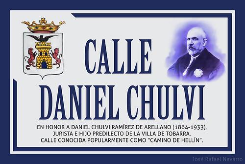 PLACA CALLE DANIEL CHULVI