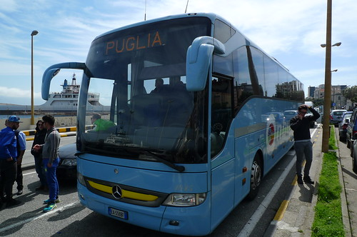 On the Bus to Lecce, Apulia, Italy