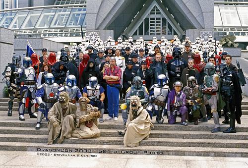 2003 - DragonCon - 501st Legion