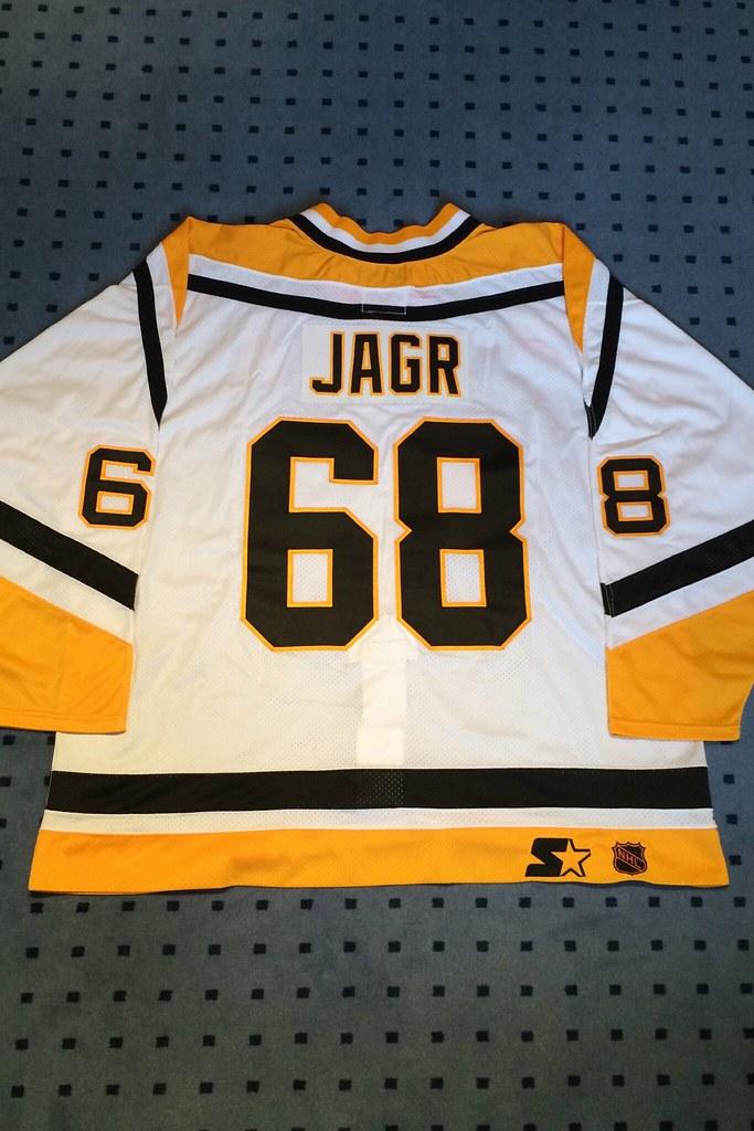 Pittsburgh Penguins 1996/1997 Home Jaromir Jagr Starter Mesh Sz. 56R (back)