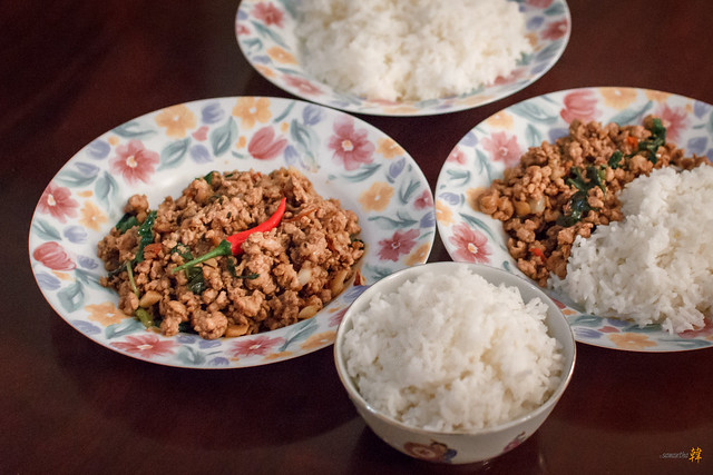 Home-cooked Pad Kra Pow-4508