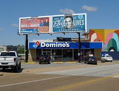 Domino's (across from Sun Studios)